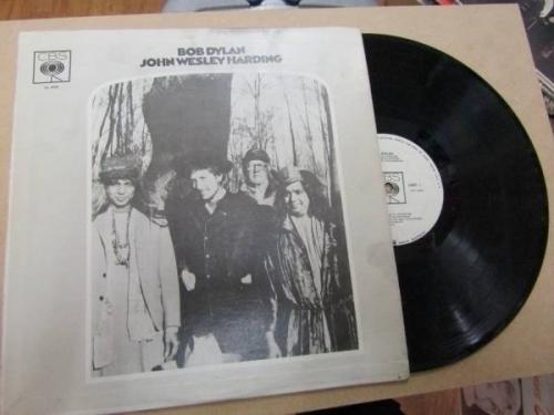 BOB DYLAN JOHN WESLEY HARDING PROMO 1968 Original VINYL LP COLOMBIA PRESS JUP