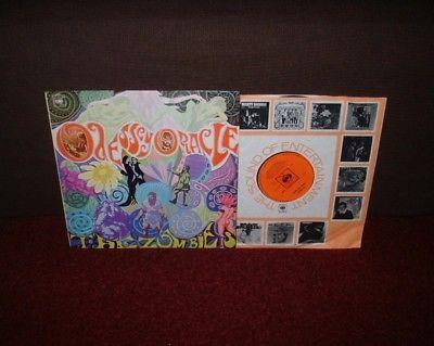 ZOMBIES Odessey   Oracle LP 1968 CBS 1st Press  A1 B1   MEGA RARE MONO