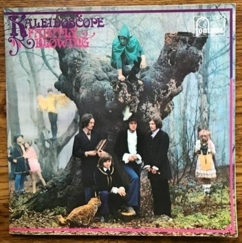 Kaleidescope   Faintly Blowing UK Fontana Original Psych LP