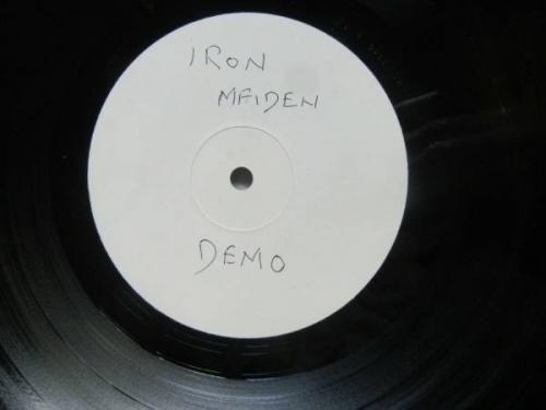 IRON MAIDEN DEBUT ALBUM LP Very Rare TEST PRESS Stamped Matrix EMC3330 A1 B1 EX