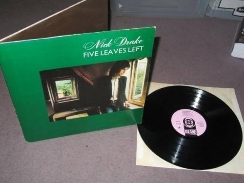 Nick Drake   Five Leaves Left LP 1969 UK Island Records 1st Pressing Near Mint