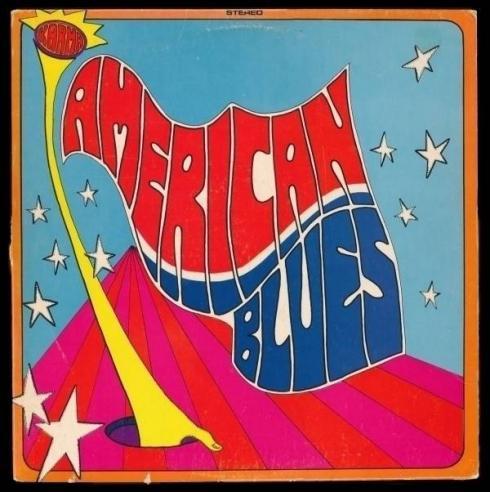 THE AMERICAN BLUES rare pre Z Z TOP   1968 Dallas psych LP Karma     Hear it