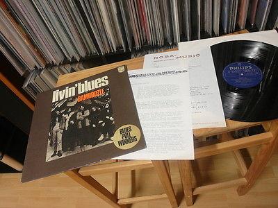 LIVIN BLUES BAMBOOZLE LP 1972 MINT PROMO DUTCH PROG  MONSTER