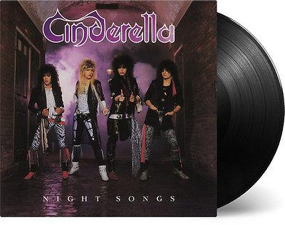 Cinderella  Night Songs New Vinyl Holland  Import