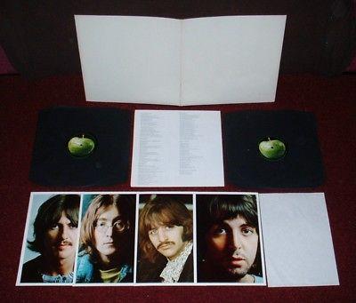 BEATLES White Album DLP 1968 APPLE 1st Press  INSERTS  SPACER MINT