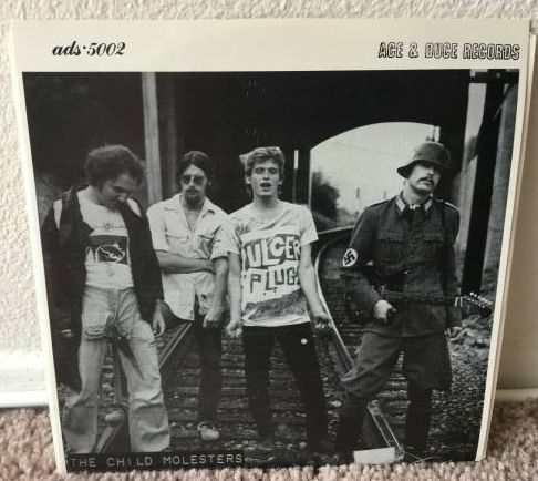 The Child Molesters   Wholesale Murder RARE Original Ace   Duce KBD 7   Punk 45