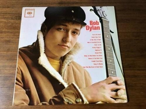BOB DYLAN SELF TITLED DEBUT ALBUM ORIGINAL MONO LP   VERY RARE 1962