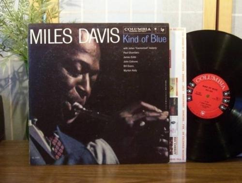 MILES DAVIS LP  Kind of Blue  ORIGINAL COLUMBIA RECORDS 6 EYE MONO D G  NM