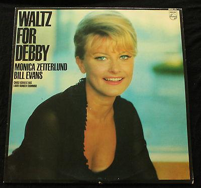 MONICA ZETTERLUND   BILL EVANS Waltz For Debby Sweden Philips1964 LP EX