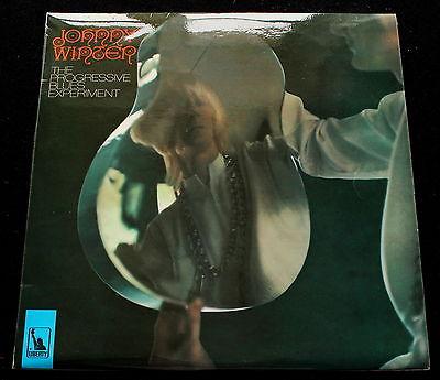 JOHNNY WINTER The Progressive Blues Experiment UK Liberty  69 MINT Psych LP