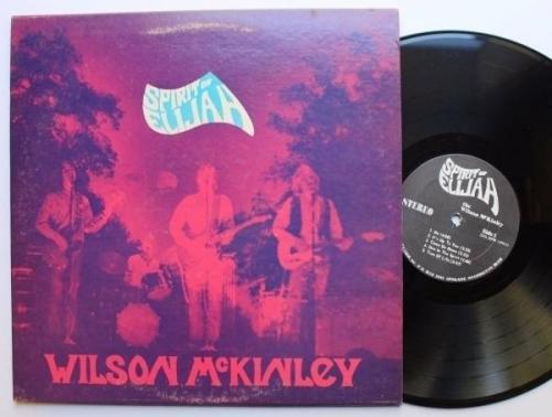 Wilson McKinley Rare Private Label Spokane WA Xian Psych LP  Spirit of Elijah