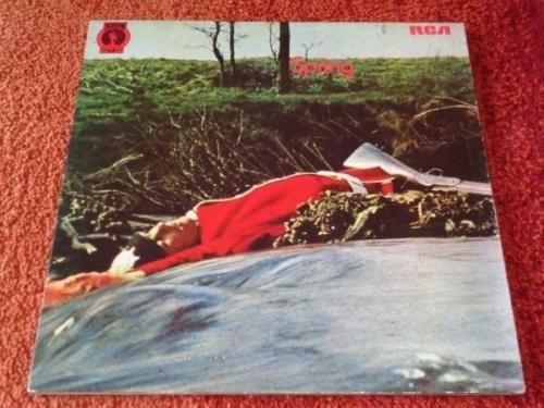 SPRING   Spring VERY RARE UK 1971 Original NEON Label Trifold Sleeve LP NE6 PROG