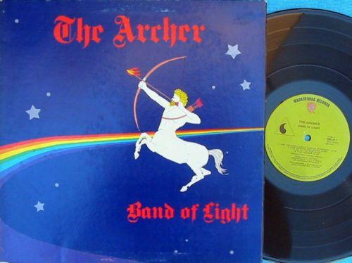 Band Of Light Rare OZ LP The Archer EX         74 Green Warner 600011 PROG Heavy Blues