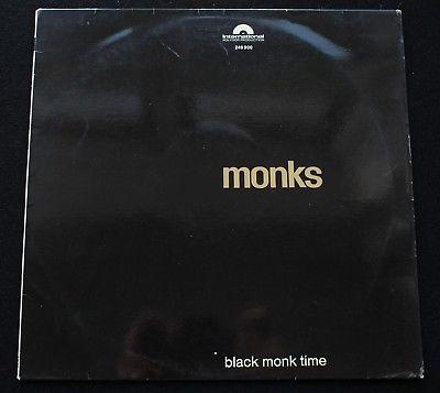 MONKS Black Monk Time German Polydor International 1966 Garage Psych LP EX