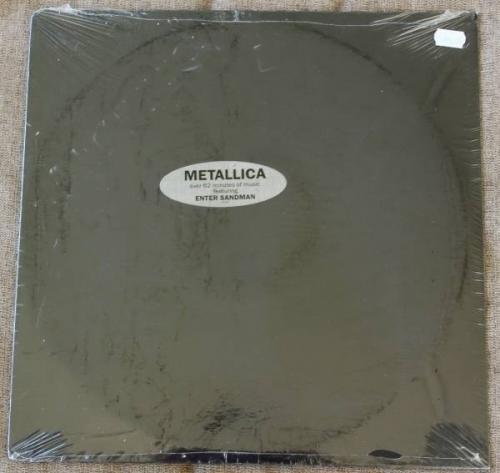 Metallica   The Black Album Still Sealed 2 LP Set First Pressing w Hype Sticker