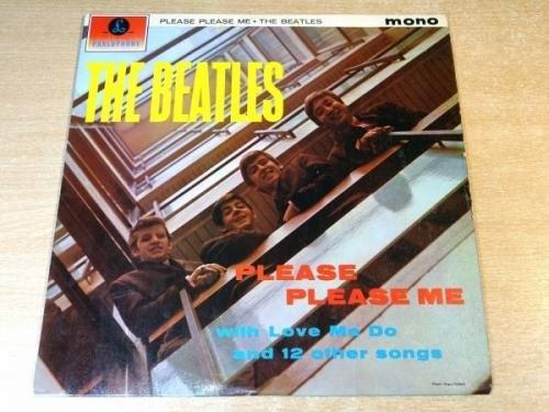 EXEX  The BeatlesPlease Please Me1963 Parlophone Mono LP