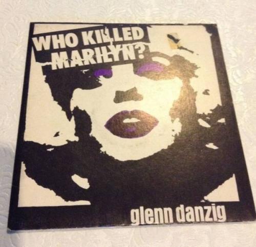 GLENN DANZIG Who Killed Marilyn  1st Pressing black vinyl 1981 MISFITS