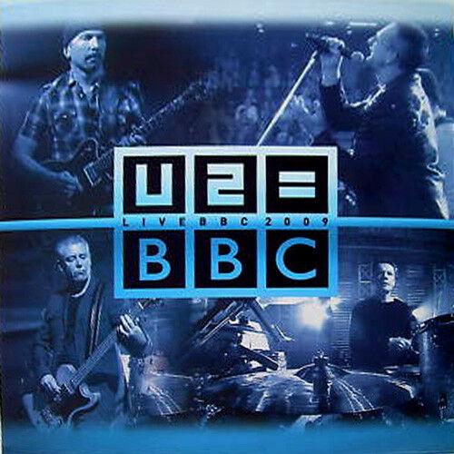 U2        Live BBC 2009  2009  QV Quality Records        QV Records 0911 Blue vinyl NEW