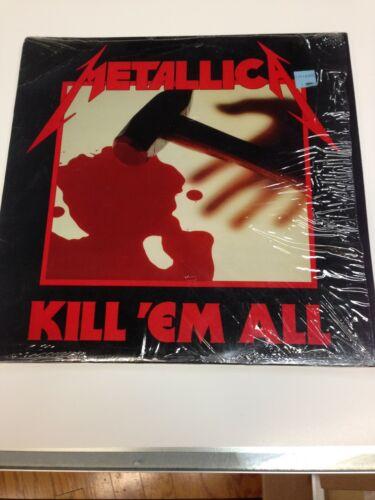 Metallica Kill Em All Megaforce LP in shrink