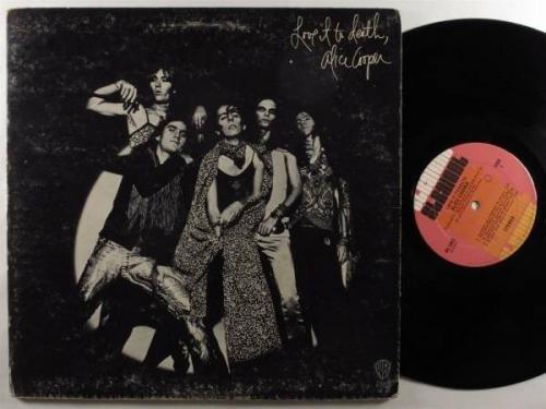 ALICE COOPER Love It To Death WARNER BROS LP 1st pressing original cover