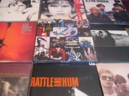 U2 RATTLE   HUM COLLECTORS JOSHUA WAR OCTOBER ACHTUNG BOXSET 10 TITLES 16 LP SET