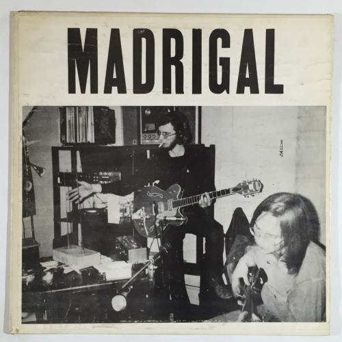 Madrigal  S T  Ultra Rare Private Psych Outsider LP EX
