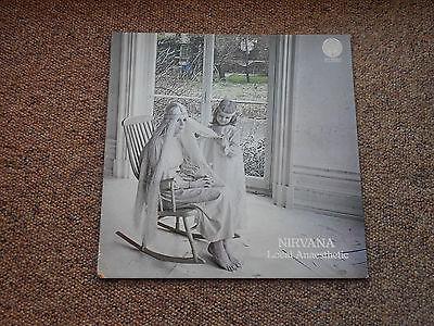 Nirvana Local Anaesthetic 1st Press UK Large Vertigo Swirl LP   Inner  RARE