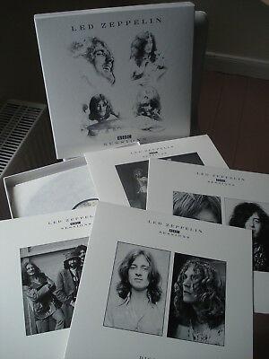 LED ZEPPELIN original 180 gram first edition Vinyl 4LP BOX BBC Sessions  1997