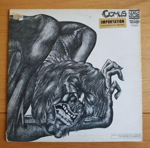RARE PSYCH ACID FOLK LP COMUS FIRST UTTERANCE OG FIRST PRESS UK DAWN 1971