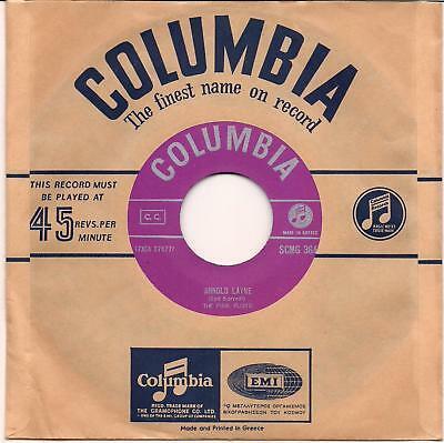 Insanely Rare Mint PINK FLOYD   SYD BARRET 7  Greek ARNOLD LAYNE 1967 Columbia
