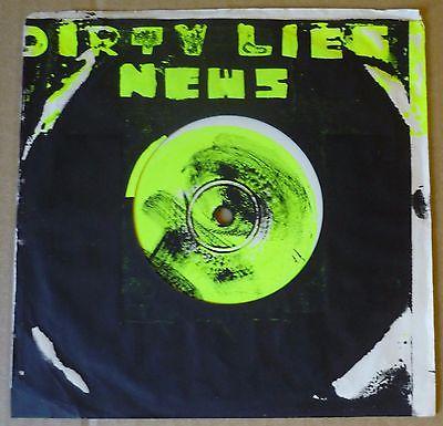 NEWS Dirty Lies 7  NOT ON LABEL  News Self release  1978 AUSSIE orig ltd BABEEZ