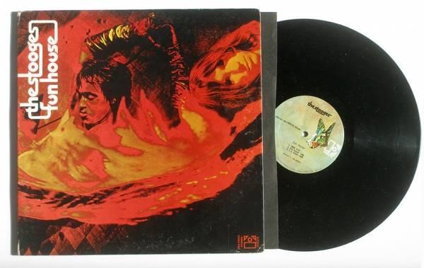 THE STOOGES FUN HOUSE ORIG 1970 1ST PRESS ELEKTRA LP GARAGE PUNK MONSTER