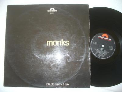 MONKS BLACK MONK TIME 1966 GER ORIGINAL 1st PRESS LP PSYCH GARAGE MONSTER RARE