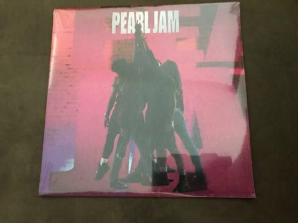 Pearl Jam Ten Vinyl LP  Original Pressing  Sealed
