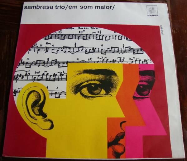 Sambrasa trio Som Maior     SMLP 1518 Mono Brazil LP 1966 DG Promo EX Bossa Jazz