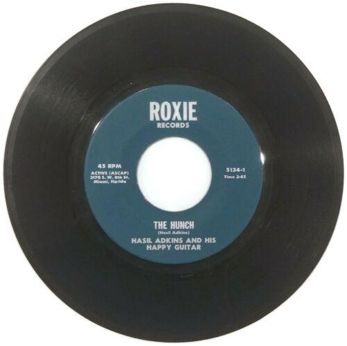 RARE ROCKABILLY Hasil Adkins   The Hunch  Roxie 45 Psychobilly HEAR