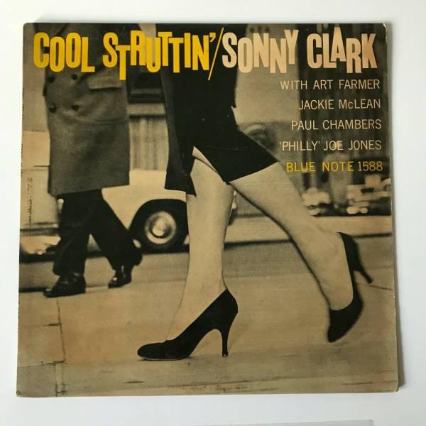 SONNY CLARK Cool Struttin  LP Blue Note BLP 1588 Mono DG RVG Ear 47 W 63rd  R
