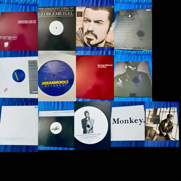 George Michael Wham Various Rare 12  Promo   Original 12  Vinyl Mix