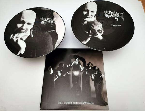 Sopor Aeternus Double Picture LP Vinyl Dead Lovers   Face 2 rare Erstauflage
