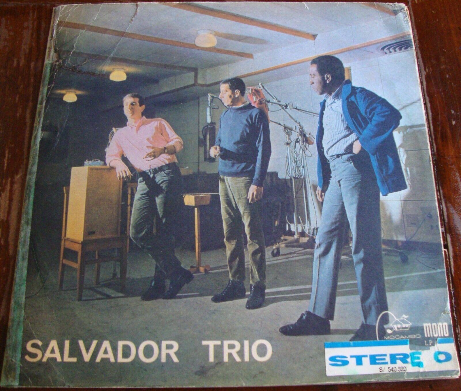 Salvador Trio       Same Mocambo S   540 320 Stereo 1966 Very Rare Bossa Jazz Brazil