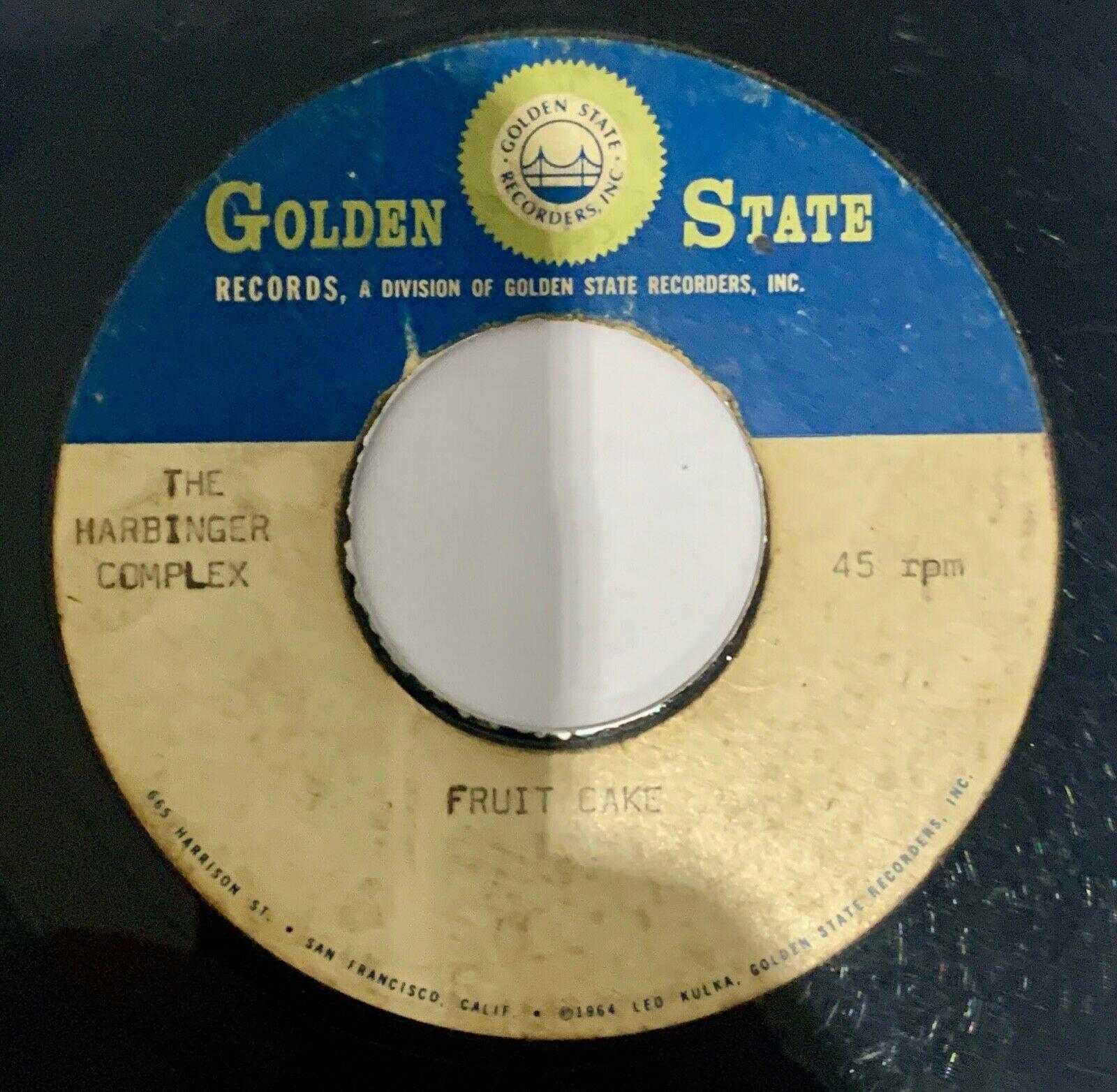 The Harbinger Complex Unreleased Acetate Psych Fuzz Nuggets Garage Beat 66 45