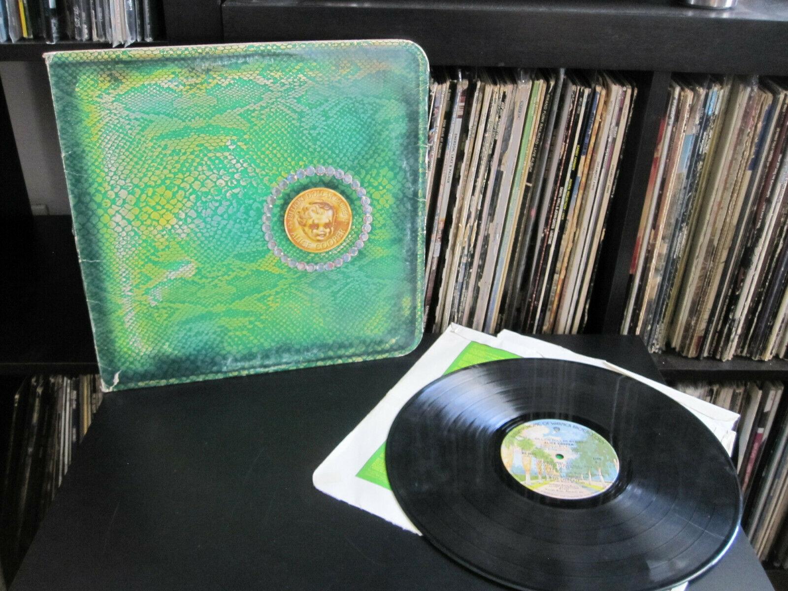 Alice Cooper        Billion Dollar Babies 1973 WB BS 2685 LP Rock Record G  G