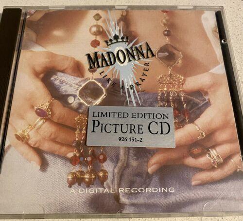MADONNA    Like A Prayer    Picture CD Very Rare