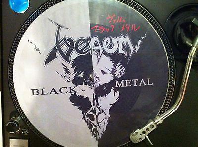Venom           Black Metal Mega Rare 12  Picture Disc Promo Maxi Single LP Heavy Rock