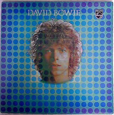 DAVID BOWIE SELF TITLED 1969 UK PHILLIPS LP  FIRST PRESSING UBER RARE SBL7912