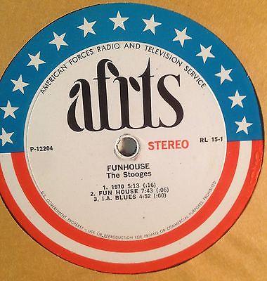 The Stooges   If RARE AFRTS LP Record Album Vinyl Psych Prog Acid Rock Iggy Pop