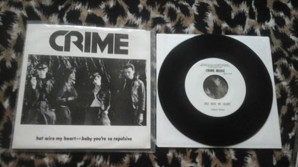 Crime Hot Wire My Heart 7 Crime Music 1976 ORIGINAL punk kbd : USD ...