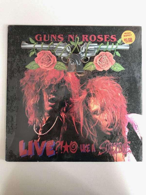 Guns N Roses  Live Like A Suicide  original 12 vinyl EP USR001
