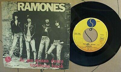 RAMONES DO YOU WANNA DANCE ROCKAWAY BEACH 45 GIRI  DISCO VINILE SIRE SRE 1008