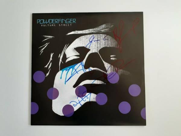 POWDERFINGER   VULTURE STREET VINYL LP RECORD SIGNED LIMITED 200 COPIES 980942 6
